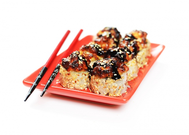 Inferno grilled maki